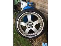 "19"" ford 5x108 jaguar volvo breyton avalanche alloys"