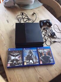 Playstation 4 ( PS4 ) - £200 with box & Bundle of 3 Games + 1 Controller - Excellent Condition