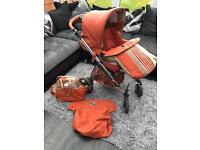 Bebecar pram/pushchair/car seat