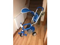 Child's Blue Smoby Trike