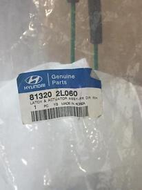 Hyundai i30 FD/FDE door latch
