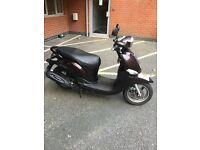 Yamaha delight scooter 114cc 2014