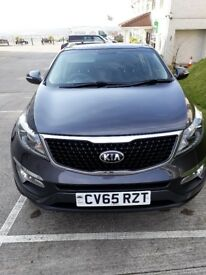 KIA SPORTAGE with service history. Very good condition.