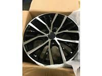 "Vw Audi Santiago Style alloys 17"" 18"""