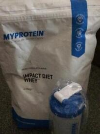 My Protein double chocolate shake
