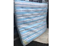 Royalty King Size Sprung Orthopaedic Mattress. Excellent Condition. Clean As New. Can Deliver.