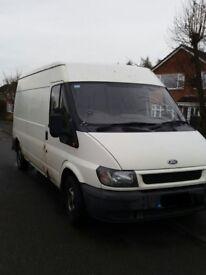 white transit van for breaking
