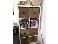 Ikea wicker storage boxes £10 each £50 for 6 and £60 for 8