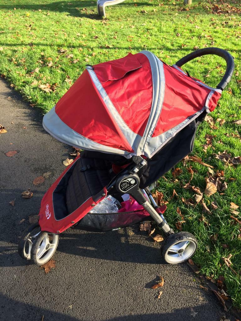 Baby Jogger City Mini 2015 Buggy With Rain Cover And
