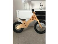 Early Rider Wooden Balance Bike, very good condition, minor scratches RRP £100