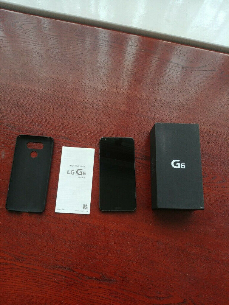 LG G6 32GB Unlocked Astro Black Phone with case & charger boxed | in  Bradford, West Yorkshire | Gumtree