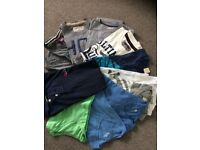 Hollister, Superdry, Jack Wills 12 x MENS TSHIRTS