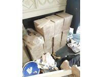 Solid oak parquet - brand new / not reclaimed - 12 sqm - 300 x 50 x 22mm