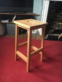 Wooden stools x2