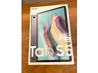 NEW SEALED,WARRANTY SAMSUNG GALAXY TAB S5E 64GB WIFI + CELLULAR £290 NO OFFER CAN DELIVER NOT IPAD