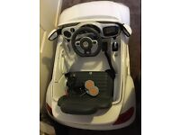 White VW beetle brand new for sale