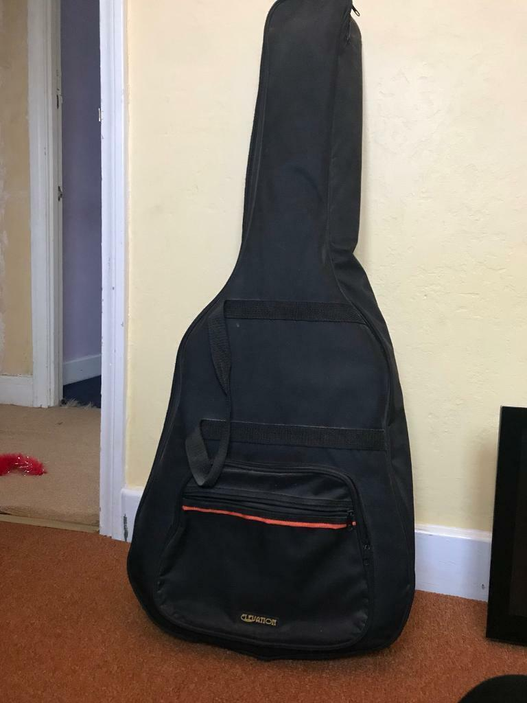 Fender electric acoustic guitar and elevation guitar case | in Southampton,  Hampshire | Gumtree