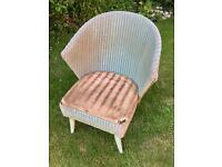 Vintage (1955) Lloyd Loom chair - for renovation or upcycling