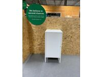 HÄLLAN Storage combination with doors, white IKEA Croydon #BargainCorner