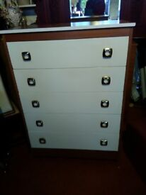 Various chests of Drawers