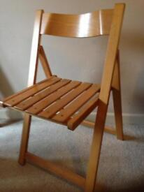1970s/80s Wooden folding chair