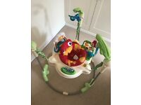 Rainforest Jumperoo by Fisher Price - excellent used cond.