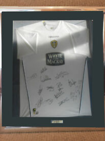 Own this Genuine Leeds United Authentic Signed & Mounted Shirt
