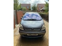 2003 Citroen Xsara Picasso with 86k on the clock