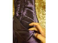 Cadbury purple childs bridesmaids dress. Fitted girl age 9.