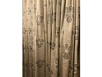Beautiful lined grey curtains- 86 drop collect po15