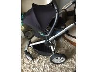 Mint quinny buzz full package brand new carrycot with car seat etc