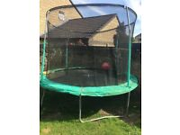 Free 10ft trampoline must dismantle
