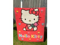 Hello Kitty kids bedroom rug