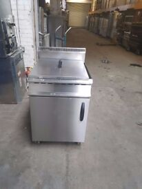 Moorwood vulcan twin tank double twin basket NAT GAS LPG chips fryer