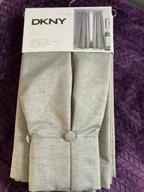 Full length fully lined curtains by DKNY