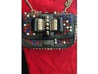 Christian Louboutin Classic Black Sweet Charity Handbag Clutch RRP £1095