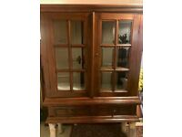 Display china cabinet/bookcase