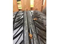 195/65/14 tyres x2 matching pair as new