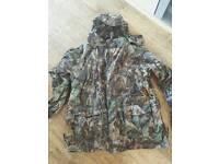 Waterproof camoflouge suit
