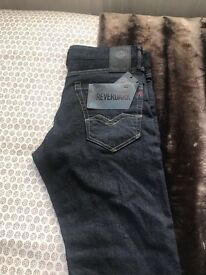 Mens brand new with tags replay jeans size waist 30 leg 30