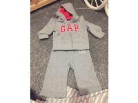 gap baby girl tractsuit