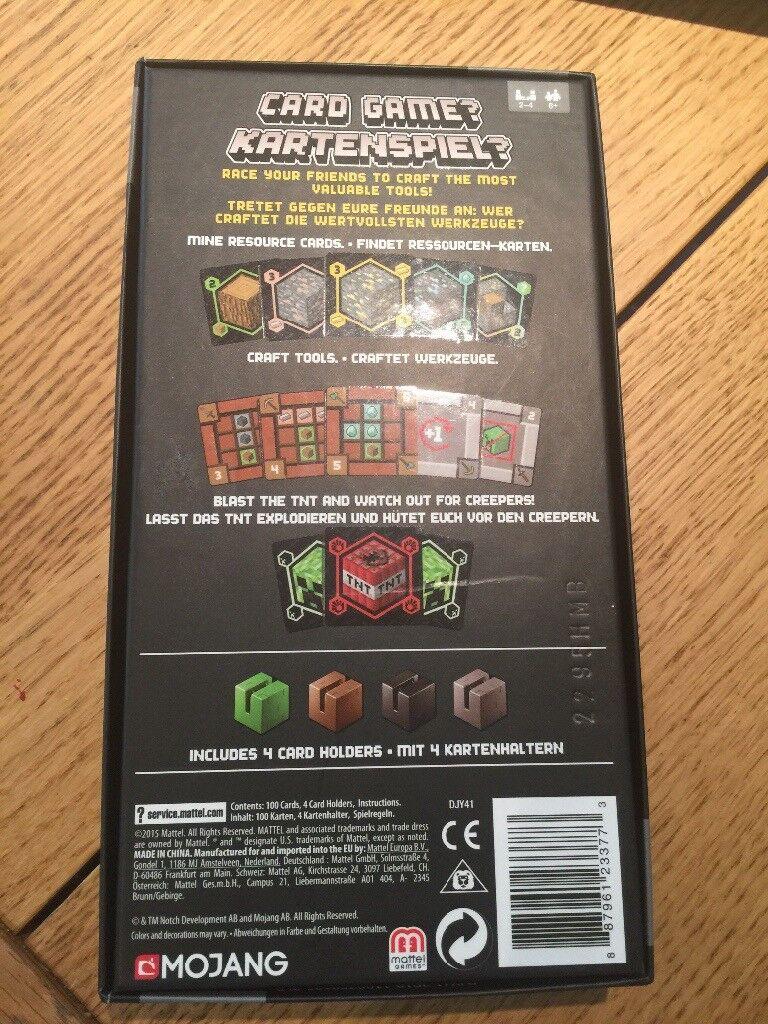 Minecraft Blockopedia Book & Minecraft Card Game Set MOJANG | in ...