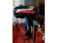 Mercury 2.5 outboard/tohatsu 2.5 4 stroke