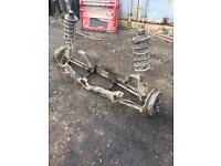 Land rover freelander rear axle