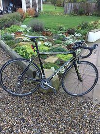 Focus road racing bike