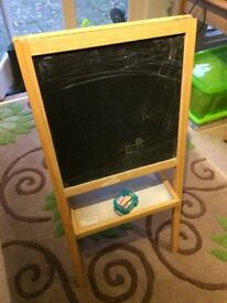 Childs Easeal - Black Board on one side / wipe clean on reverse