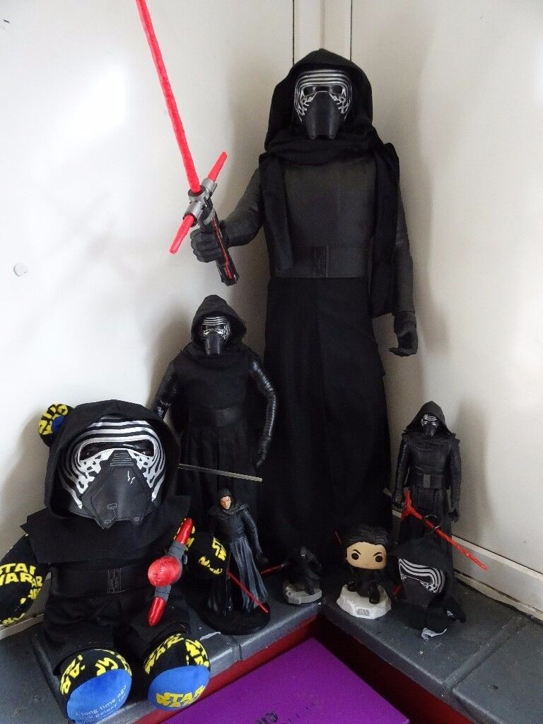 Star Wars Kylo Ren Job Lot [8 items]