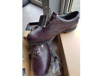 Footjoy brown/burgundy size 9