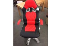 Large office chair -Black and Red