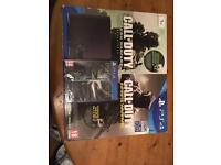 PS4 1TB NEW & SALED + Call of Duty + Dishonored 2